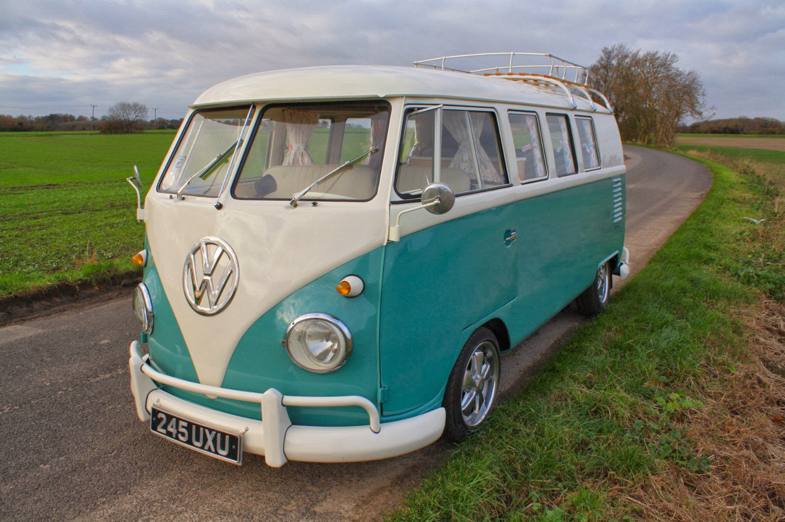 1962 Vw Split Screen Camper Van Vw Bus