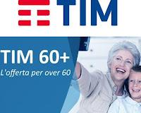 tim 60+, offerta ricaricabile
