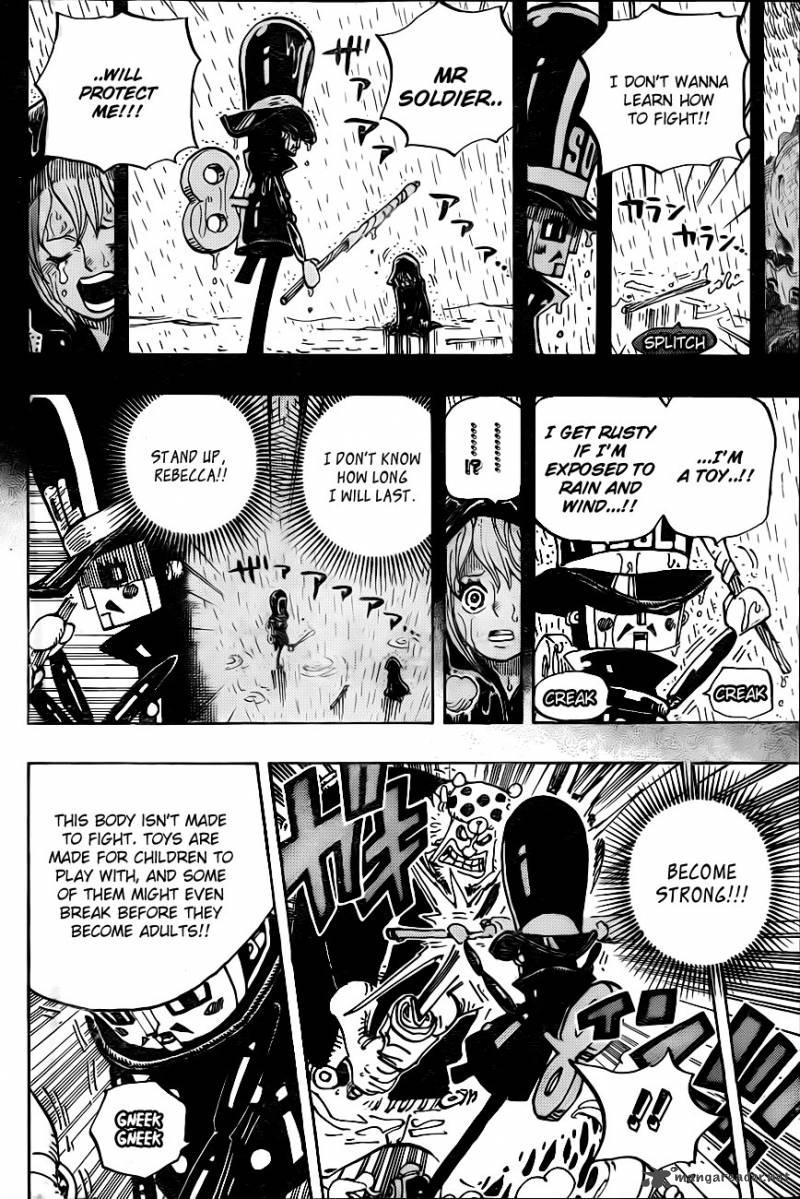 One Piece Ch.733: Soldier-sans Desires