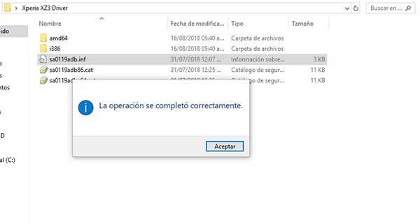 Sony Xperia drivers USB controlador