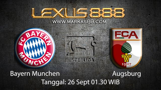 Prediksi Bola Jitu Bayern Munchen vs Augsburg 26 September 2018 ( German Bundesliga )