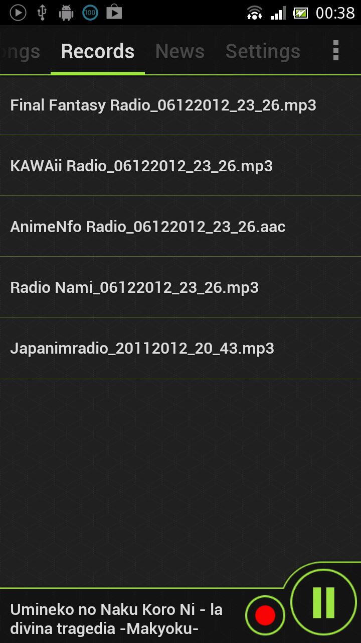 DeveloperCat: Anime Radio 2 8 4