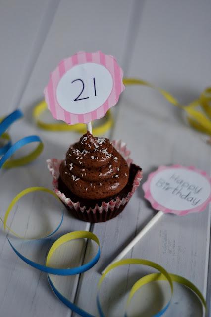 Čokoládové cupcake