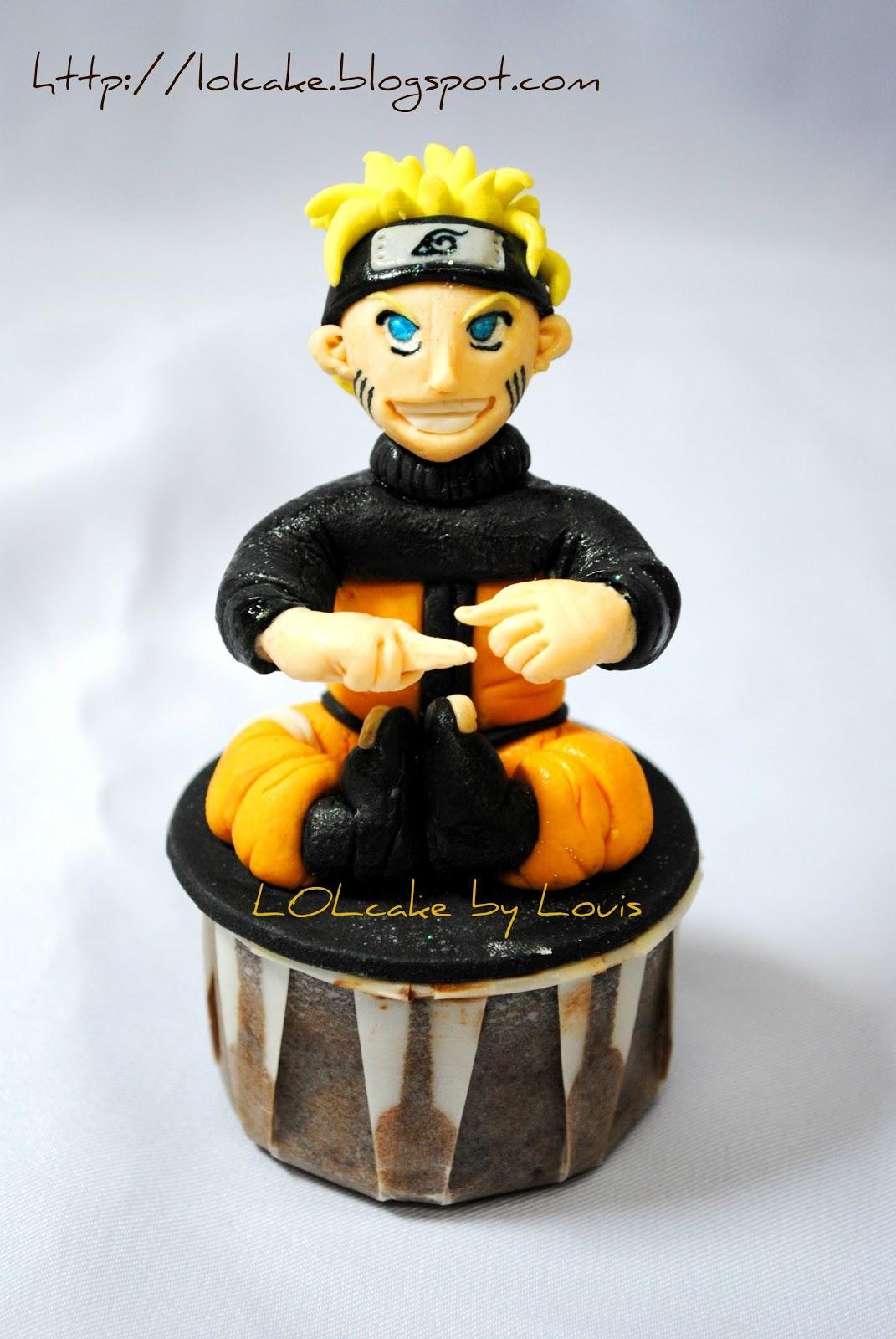 Lolcake Naruto Cupcake