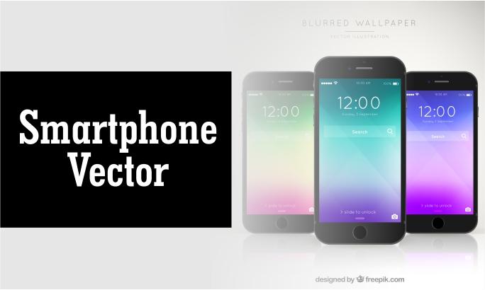 Download Desain Handphone Vector