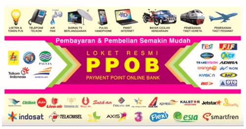 Usaha PPOB  (Payment Point Online Bank) atau Pembayaran dan Pembelian Online