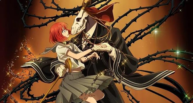 Anime Like Violet Evergarden - Mahoutsukai no Yome (The Ancient Magus' Bride)
