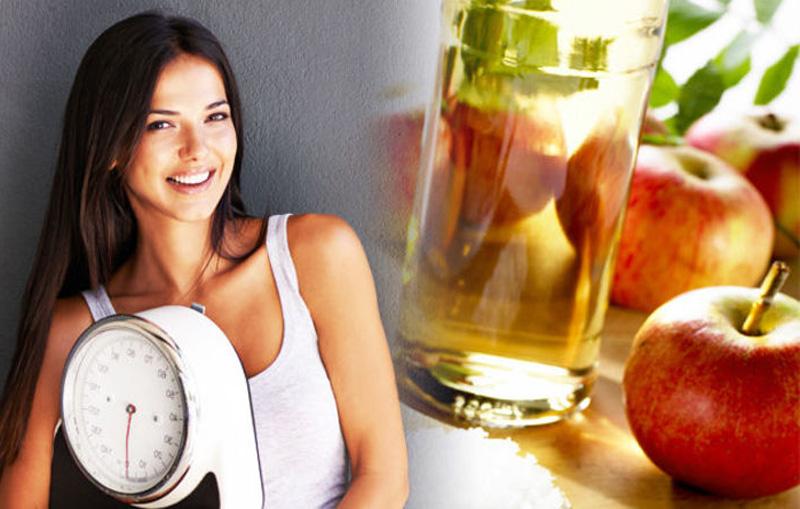 Диеты для похудения с яблочным уксусом