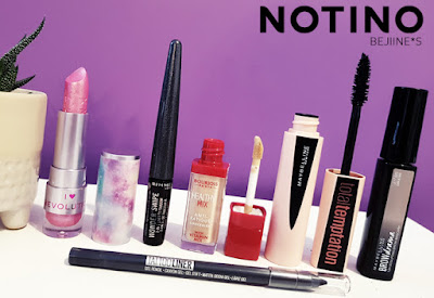 6 Make-Up petits prix notino https://www.notino.fr/