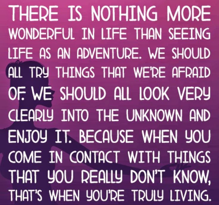 We Fear What We Don T Understand Quote: There Is Nothing More Wonderful In Life Than Seeing Life
