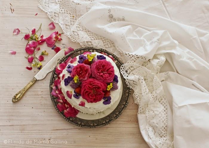flower layer cake