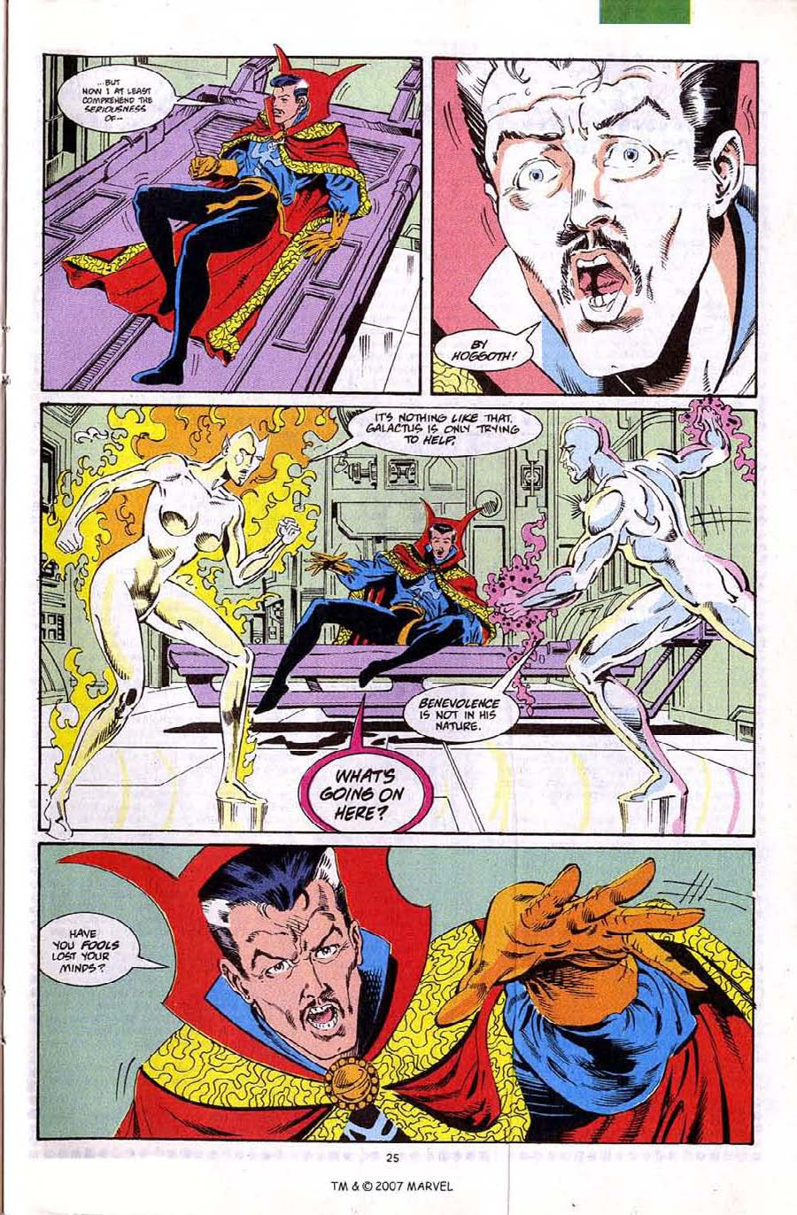 Read online Silver Surfer (1987) comic -  Issue #67 - 27