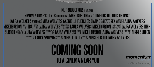 Movie poster writing at the bottom font squirrel