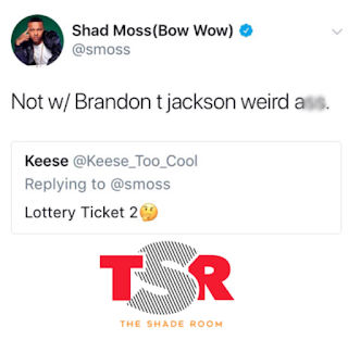 Brandon T. Jackson Bow Wow Beef