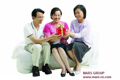 www.mars-vn.com - Quà tặng gắng kết người thân và gia đình
