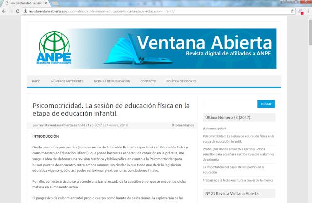 http://revistaventanaabierta.es/psicomotricidad-la-sesion-educacion-fisica-la-etapa-educacion-infantil/