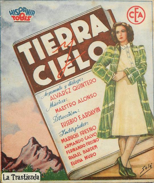 Programa de Cine - Tierra y Cielo - Armando Calvo - Maruchi Fresno
