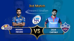 MI vs DC IPL 2019 live score, 3rd match highlight