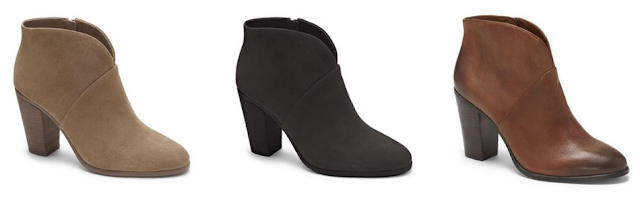 Vince Camuto Franell Booties $70 (reg $129)