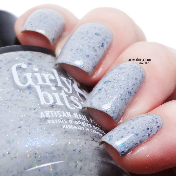 xoxoJen's swatch of Girly Bits for Crelly Crate: Dying To Get Here
