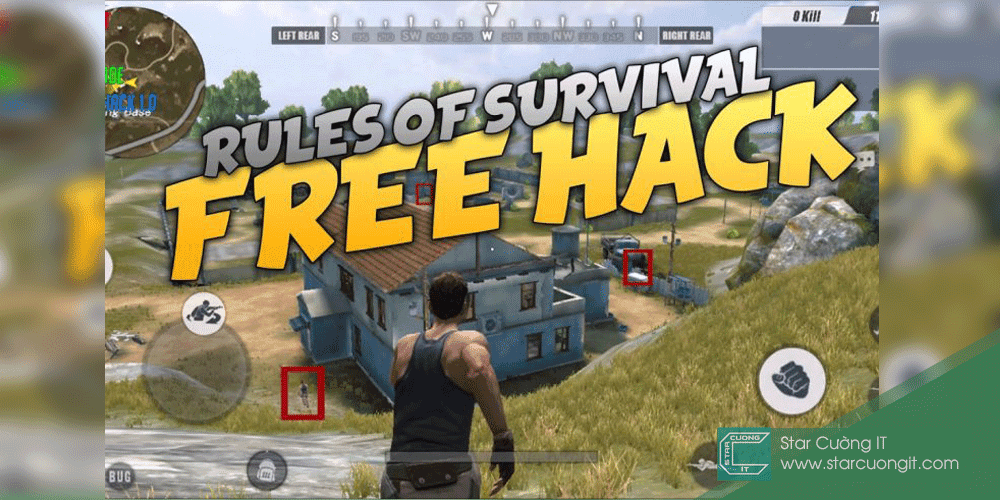 Huong dan hack rules of survival pc moi nhat