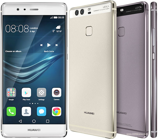 A close up look of the Huawei P9
