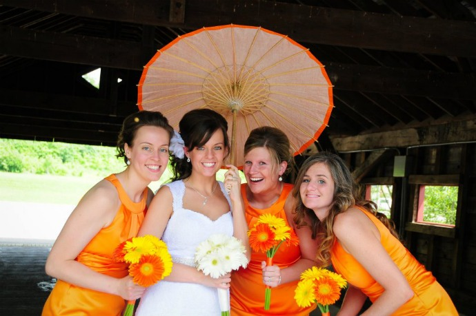 orange-wedding