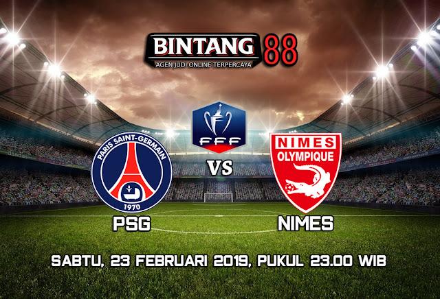 PREDIKSI PSG VS NIMES 23 FEBRUARI 2019