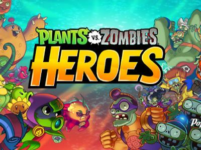 Plants vs Zombies Heroes v1.8.26 Mod Apk Terbaru