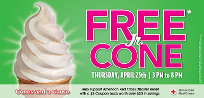 Free Jr. Cone at Carvel