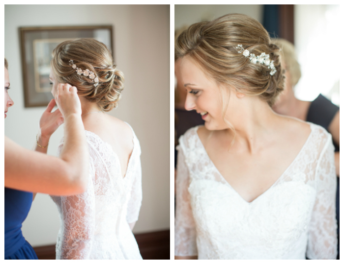 hairpiece and updo Photography: Violet Inspired Photography// Hair: Taming Rapunzel