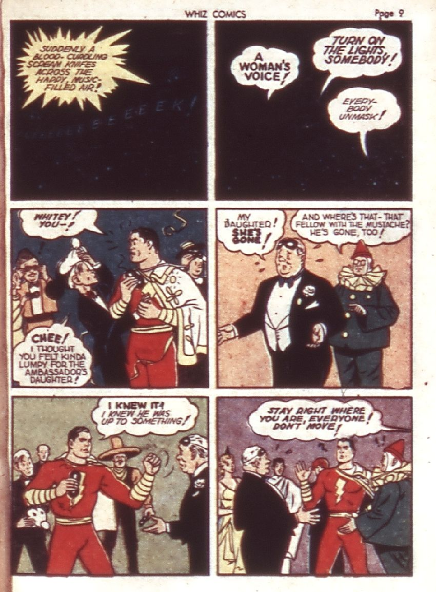 WHIZ Comics issue 23 - Page 11