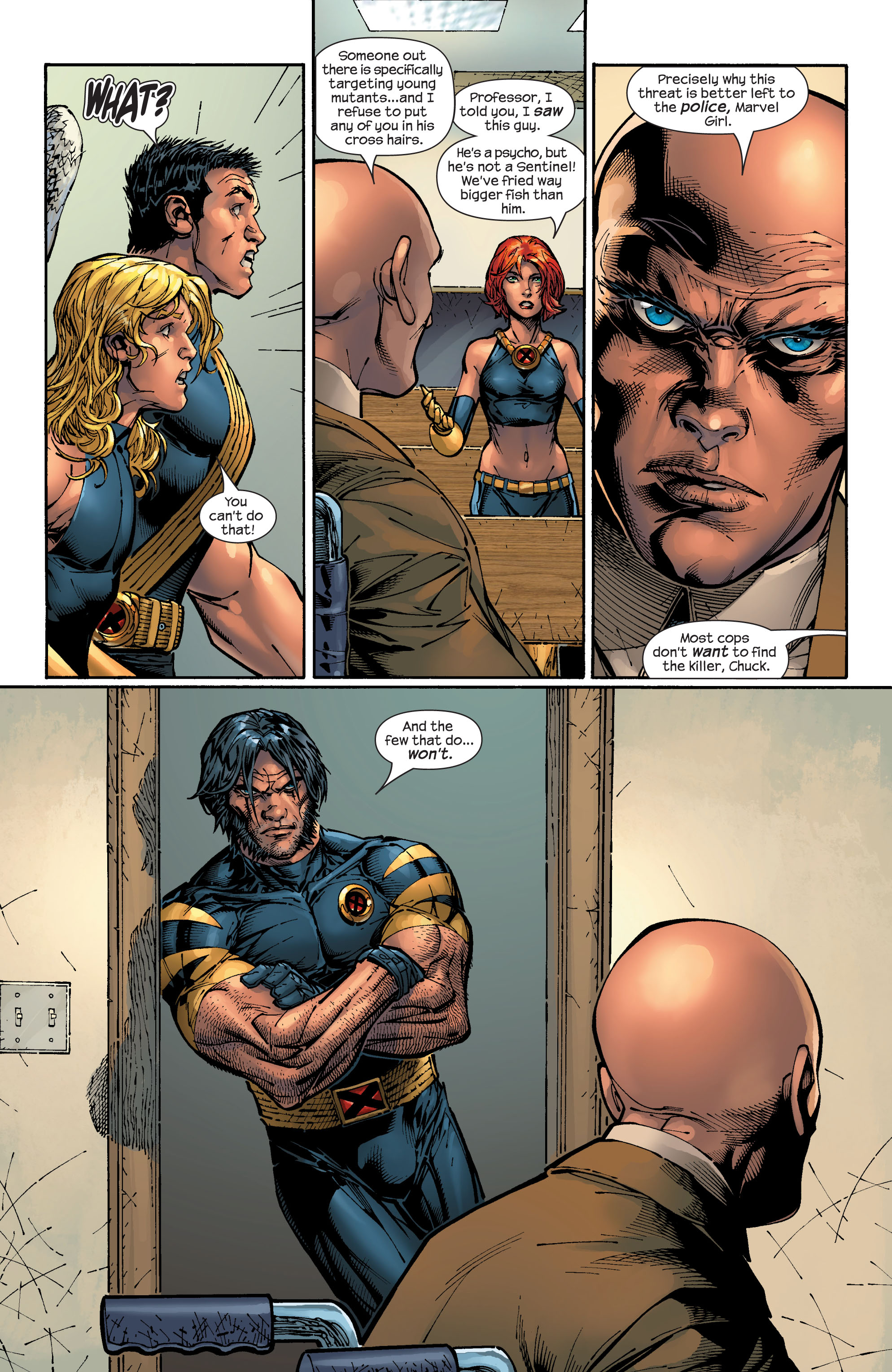 Read online Ultimate X-Men comic -  Issue #47 - 21