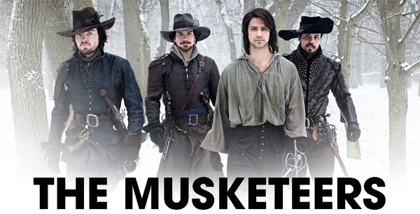 The Musketeers 1x01 BBC