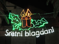 Božićne slike Sutivan otok Brač Online