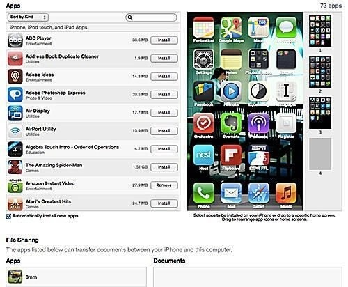 Sync Aplikasi Ke IPhone