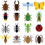 いろいろな虫のマーク