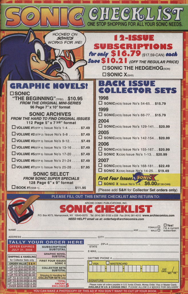 Read online Sonic The Hedgehog comic -  Issue #189 - 33