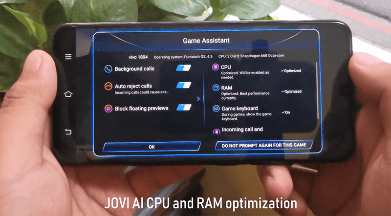 The JOVI AI Game Mode with Game Assistant