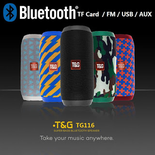 cassa speaker bluetooth stereo T&G tg116