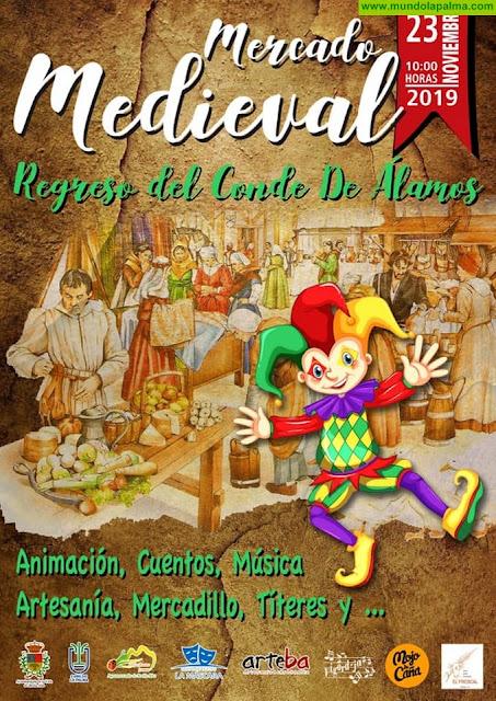 Mercado Medieval en Breña Alta