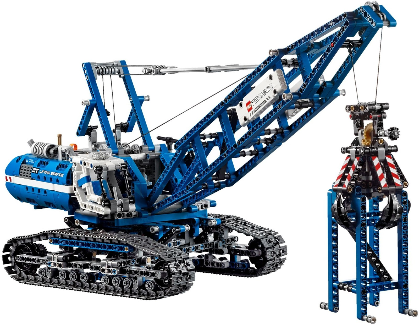 review lego technic crawler crane 42042 the test pit. Black Bedroom Furniture Sets. Home Design Ideas