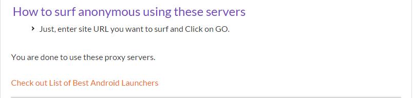 us proxy server: fastest proxy server