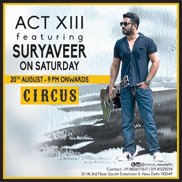 Rock the night away with SURYAVEER performing live at CIRCUS