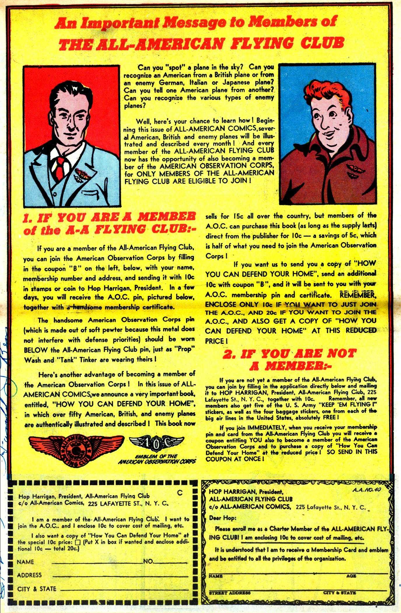Read online All-American Comics (1939) comic -  Issue #40 - 34