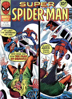Super Spider-Man #297, Dracula