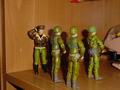1992 General Flagg, 2000 Locust, 1994 Action Soldier