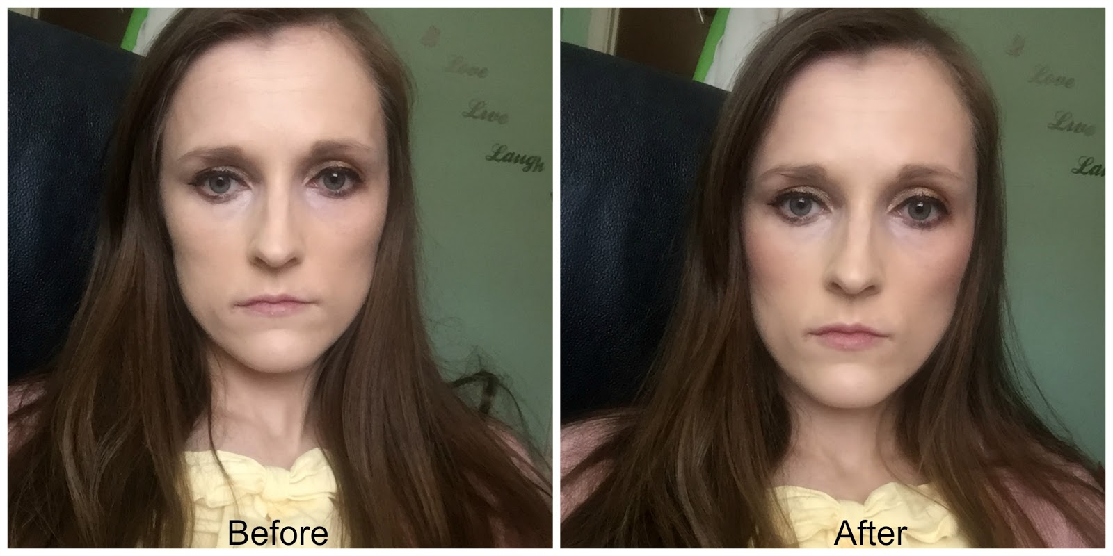 before and after collection gorgeous glow blush block
