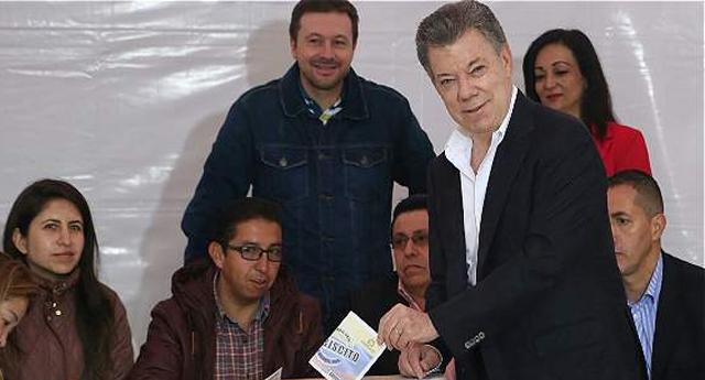 El 'No' gana en el plebiscito por la paz de Colombia