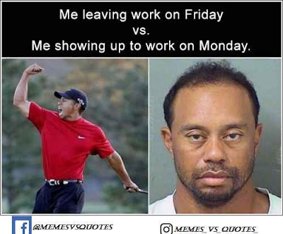 Monday vs Friday